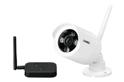 Wireless security cameras with night vision (2-pack)