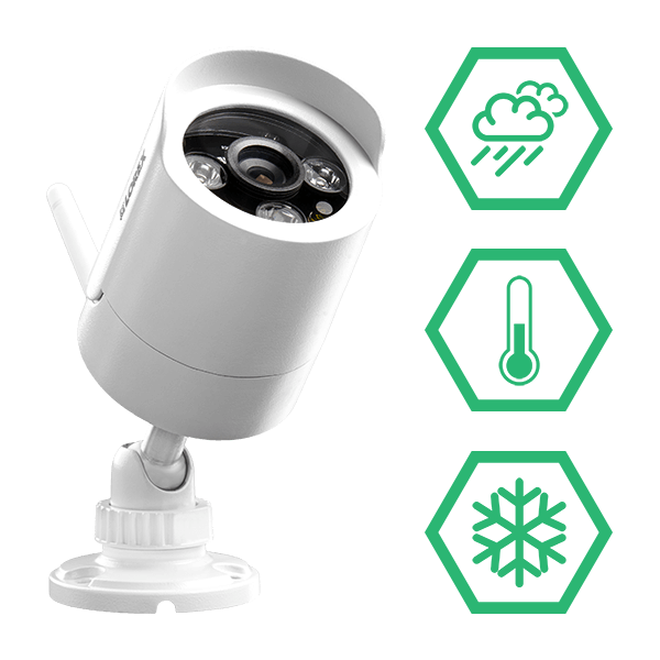 LW2287B wireless security camera IP66 Weatherproof & vandalproof cameras