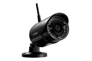 4-Camera Surveillance System with HD 1080p Wired and HD 720p ...