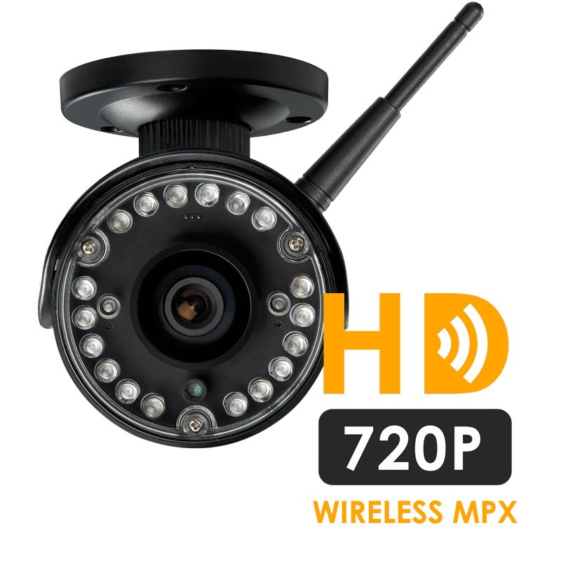 1080p HD security system with two 720p HD wireless cameras