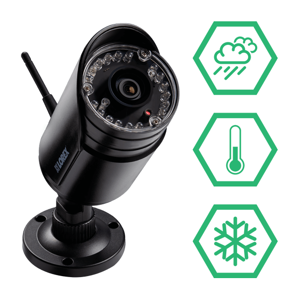 LW2297B wireless IP66 weatherproof & vandalproof security cameras