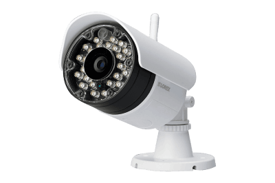 Wireless security camera system with monitor and 4 outdoor cameras and monitor