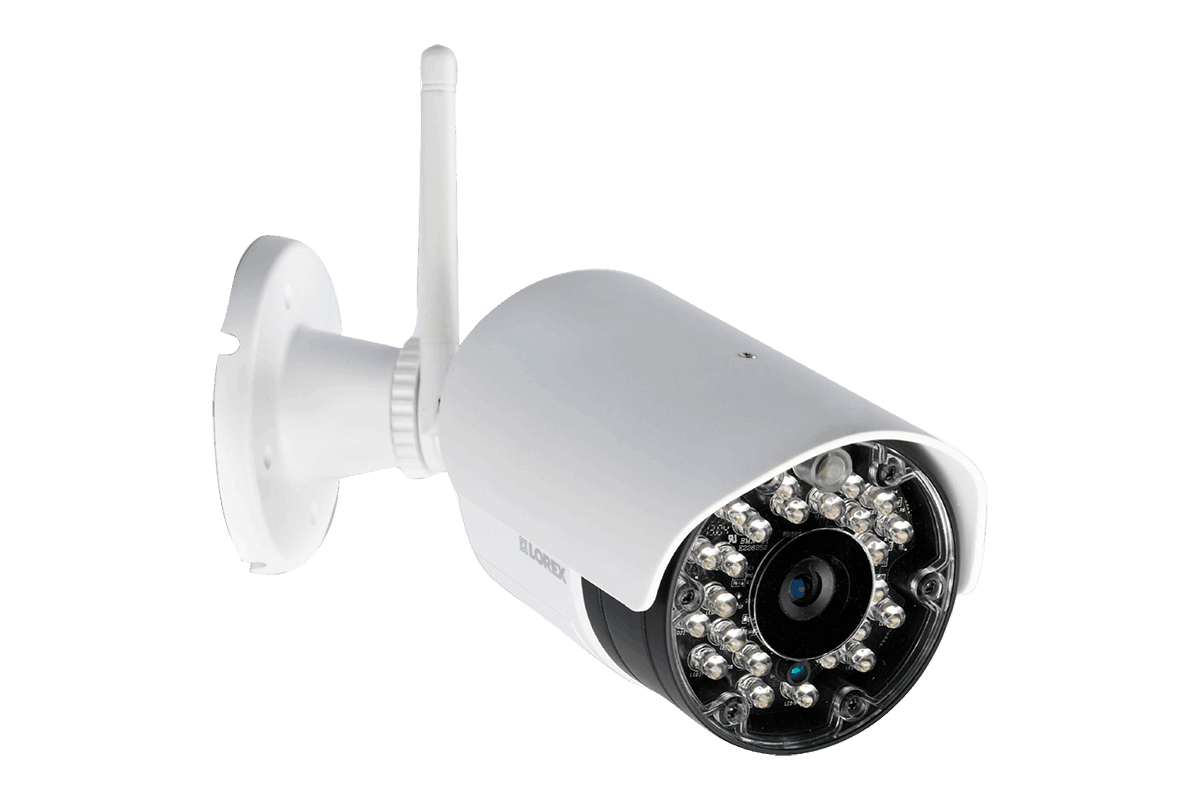 Complete Security System with 4 Wireless Cameras and Monitor | Lorex