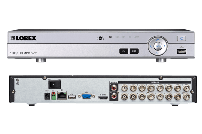 Heavy duty 16-camera HD 1080p home security system