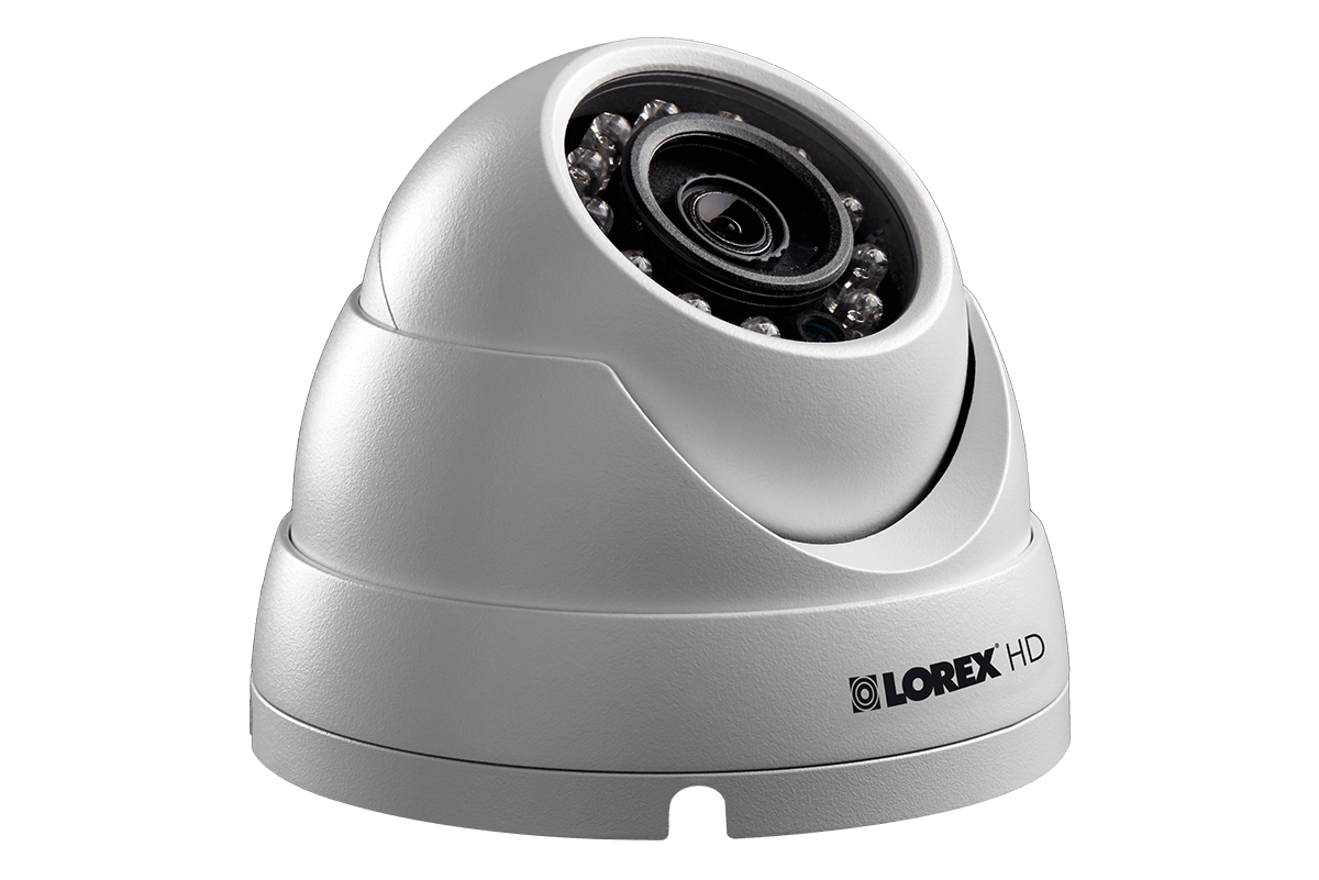 HD 1080p dome camera DVR security system with night vision