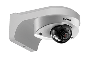 Surveillance DVR with 8 audio-enabled cameras