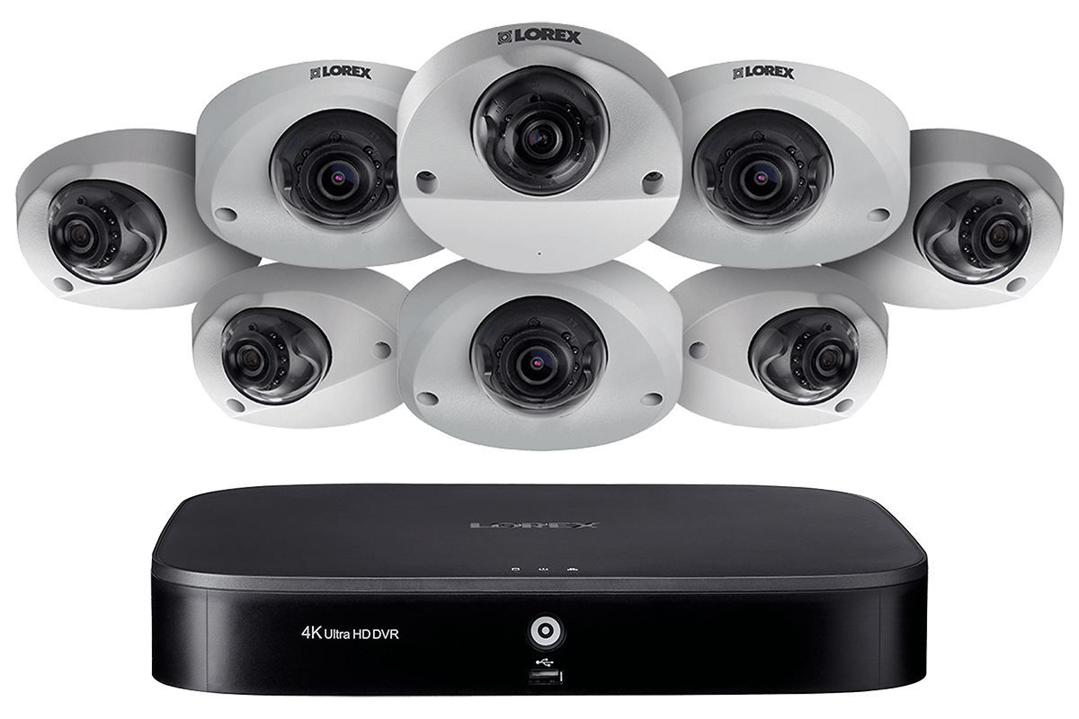 MPX168AW HD security system from Lorex