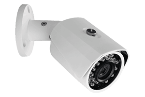 Home security system with HD 1080p bullet cameras and two 720p PTZ cameras