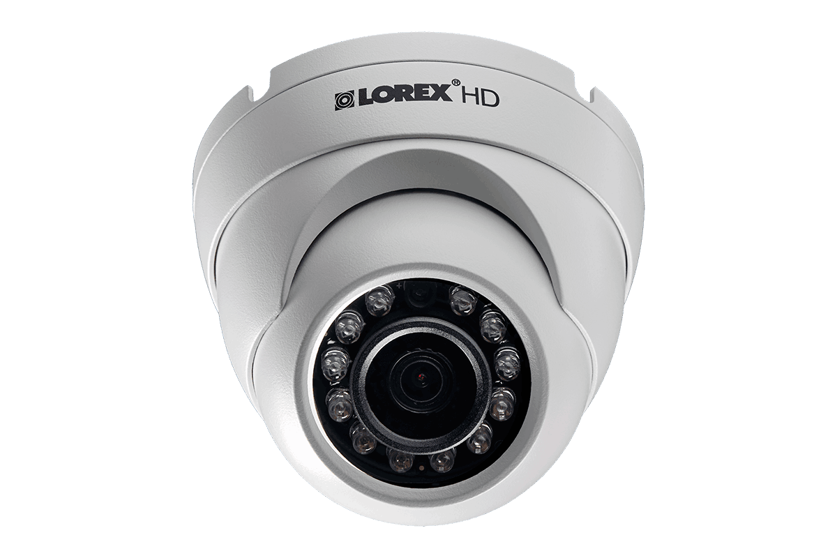 1080p HD home Security System with 4 Outdoor Dome Cameras | Lorex