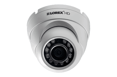 1080p HD home security system with 4 outdoor dome cameras
