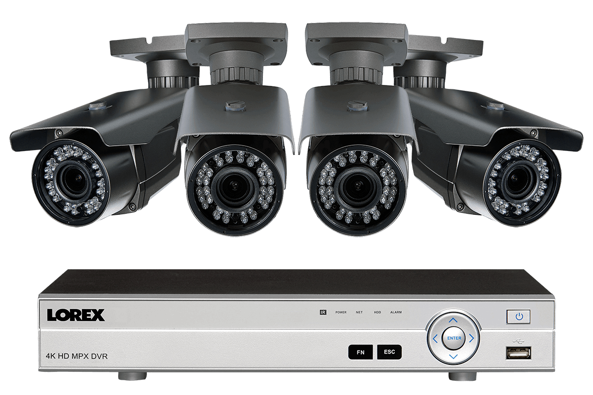 1080p Hd Home Surveillance System With 4 Varifocal Security Cameras Night Vision Camera Wiring Diagram