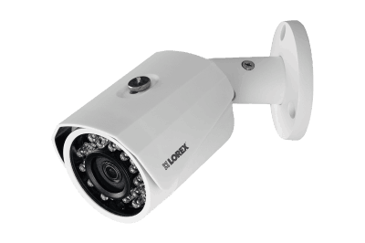 HD 1080p surveillance system with 6 outdoor security cameras and 8 channel DVR