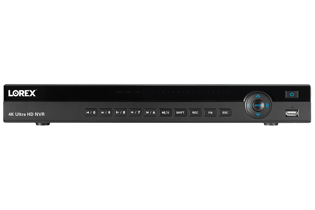 4K NVR with 8 Channels and Lorex Secure Remote Connectivity | Lorex