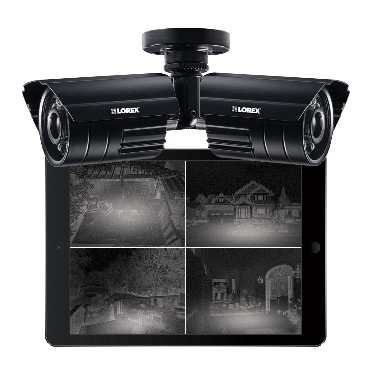 Black Firday security camera sale with Lorex night vision 900tvl secuirty cameras