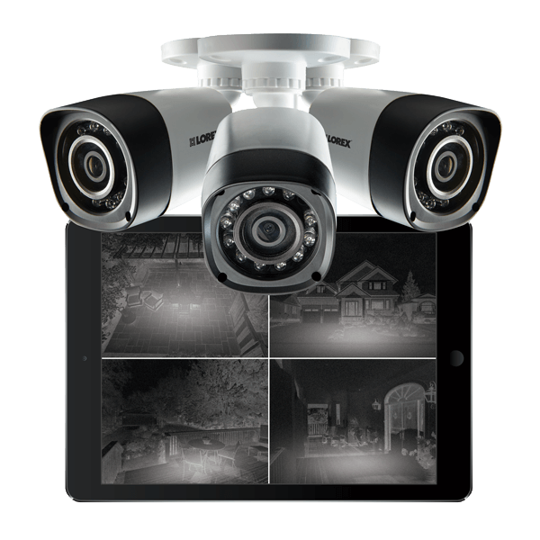 analog HD night vision security cameras from Lorex