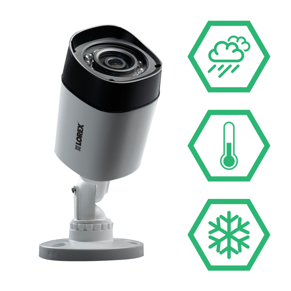 Analog HD IP66 weatherproof security cameras