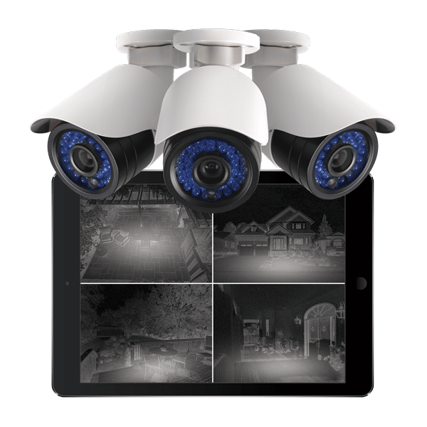HD night vision dome IP network security cameras