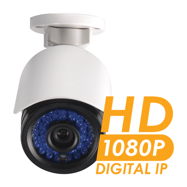 1080p HD network security monitoring for your home or business