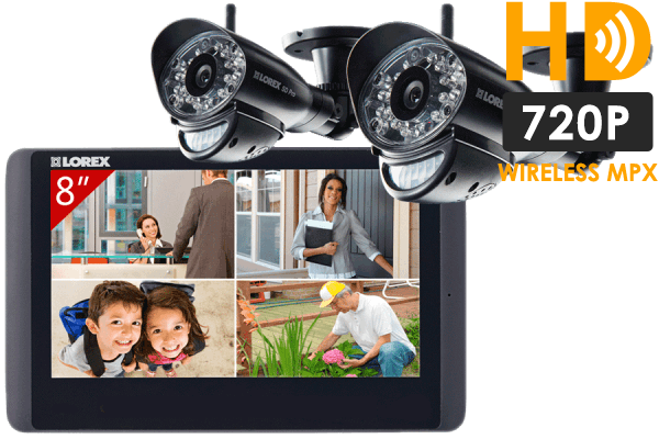 Wireless HD camera system for home monitoring