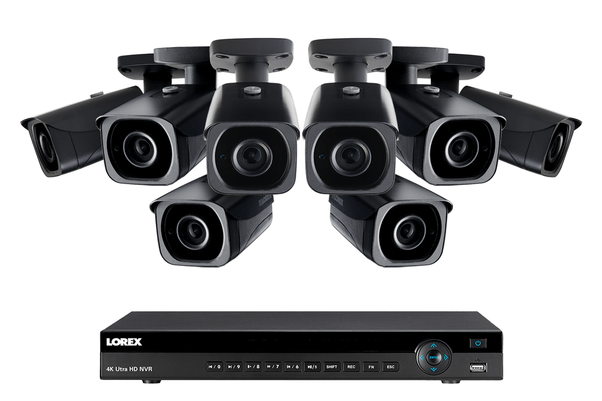 Lorex 4k Ultra Hd Ip Camera System With 8 Active Manual Guide