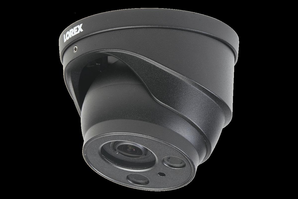 Lorex 4KHDIP1612I 16 Channel Security System w// 12 8MP LNB9232S 4K 8MP Audio Bullet Cameras