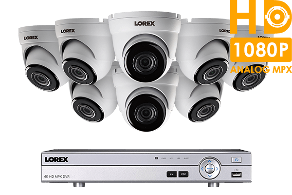 Wired security dvr system 8 channel security camera system with 8 hd 1080p cameras solutioingenieria Images