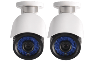 IP cameras for netHD security NVR (2-pack)