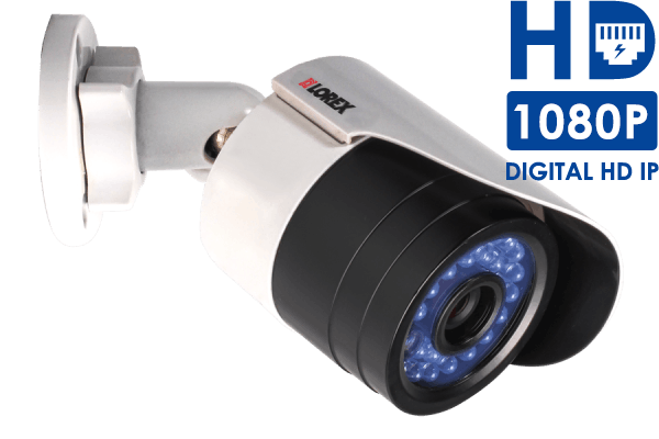 Outdoor 1080p HD IP bullet camera for netHD NVR