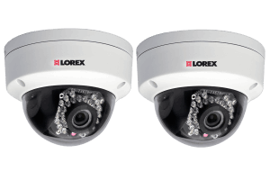 Dome IP cameras for netHD NVR (2-pack)