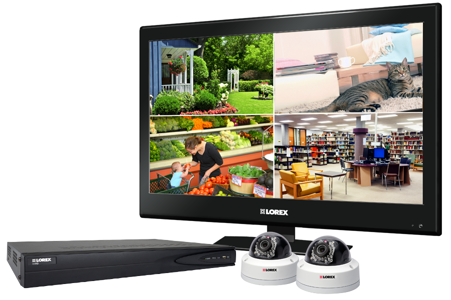 High definition IP camera system