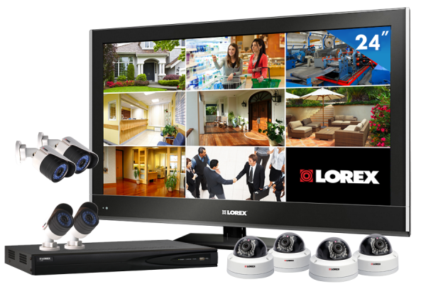 HD IP security camera system