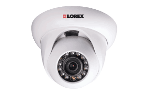HD NVR security camera system with 4 HD IP cameras