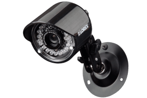 Wired security camera system