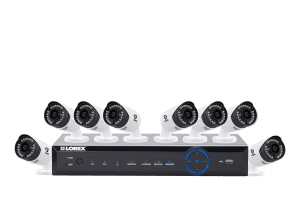 8 channel dvr security system with 8 cameras