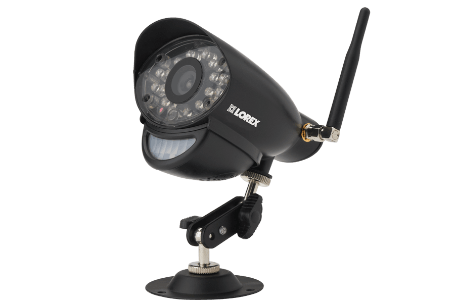 Wireless home camera system with 2 outdoor cameras | Lorex