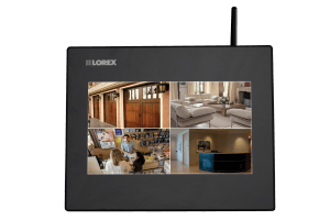 Home security monitor