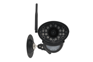 Security system with 2 wireless cameras