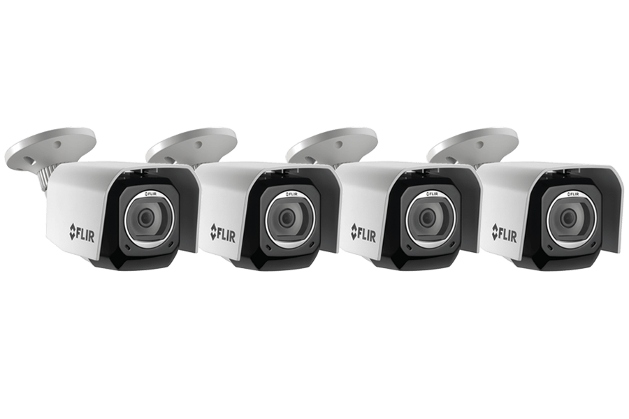 Outdoor WiFi Camera with Cloud Recording (4-pack)