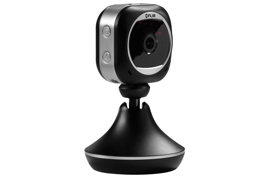 1080p HD WiFi home security camera with two way audio and night vision