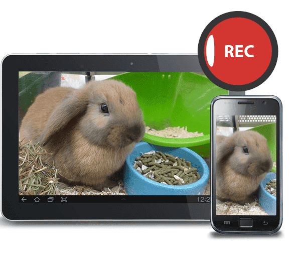 Easy recording to capture your pet's finest moments