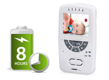 baby monitor with 8 hour battery life