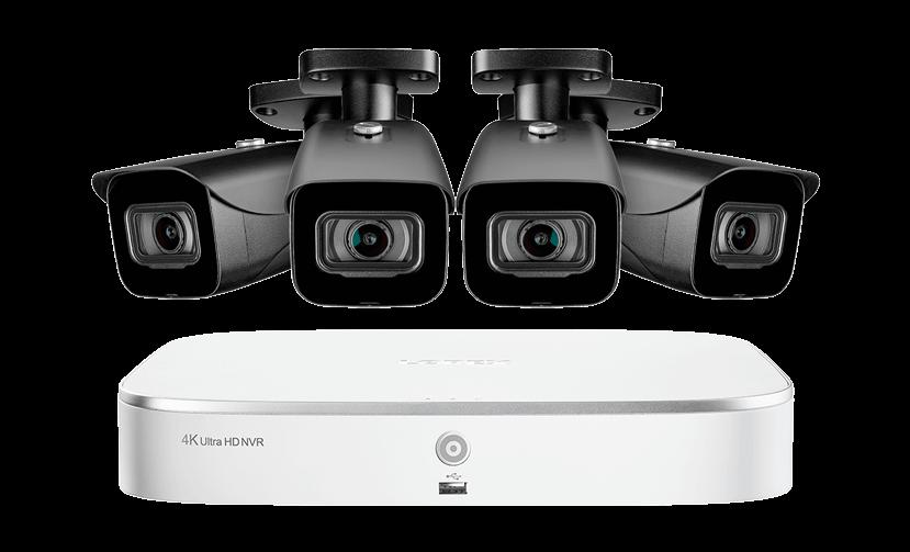 Old-school security cameras
