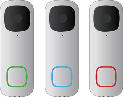 Video doorbell's Activate Status LED