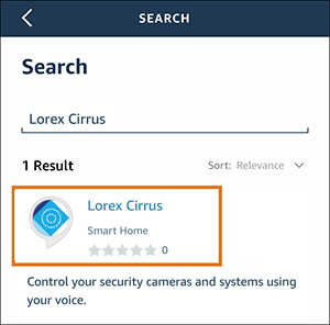 search for lorex cirrus