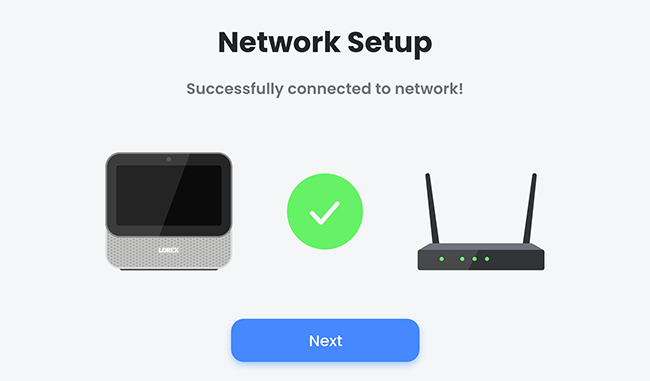 Successfully connected